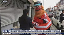 Flyers surprise Denise's Delicacies with thousands in advertising