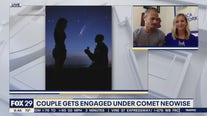 Couple gets engaged under Comet Neowise