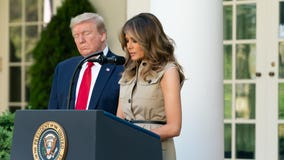 Melania Trump to address RNC from Rose Garden
