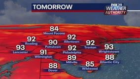 Weather Authority: Sunshine, humidity continues Monday