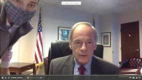 Sen. Carper caught cursing on open mic during hearing