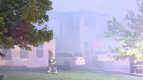 No injuries reported after fire tears through home in Wilmington