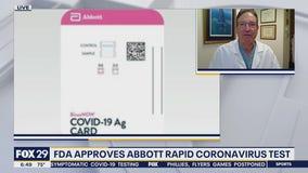 FDA approves rapid coronavirus test