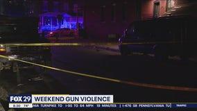 Weekend gun violence grips Philadelphia