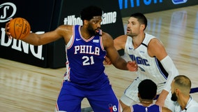 Harris, Embiid lead 76ers past Magic 108-101