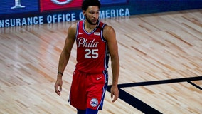 Reports: Ben Simmons ruled out against Orlando with knee injury