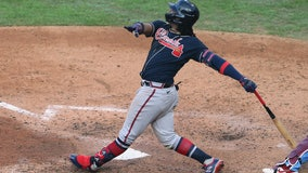 Acuna hits 3 home runs in Atlanta's doubleheader sweep of Phillies