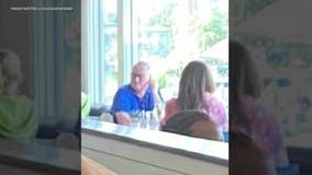 Mayor Kenney criticized over photo of him dining inside Maryland restaurant