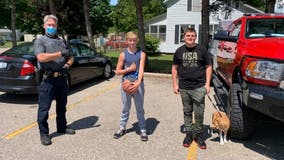 Michigan police hail 2 boys for returning cash-filled wallet