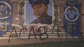 FOP offers $11k reward for information on vandalism of Sgt.Robert WilsonIII mural