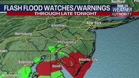 Flash Flood Watch expires; Saturday afternoon should be nice