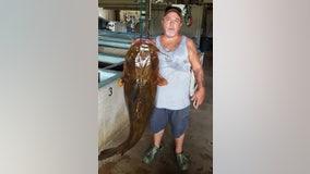 Lifelong angler snags 70-pound catfish to set new Florida record
