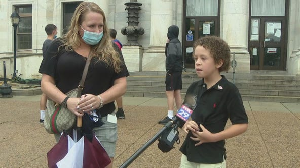 Delaware County parents rally for in-person learning for upcoming school year