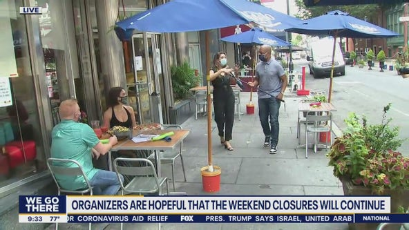 Center City streets closing over the weekend to make room for outdoor dining