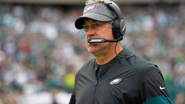 Eagles coach Doug Pederson says he feels great, has no COVID-19 symptoms