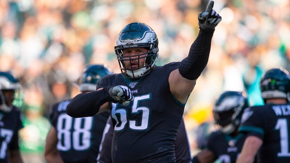 Eagles activate Lane Johnson from reserve/COVID-19 list