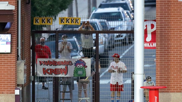 Take me outside the ballgame: Phandemic Krew cheers Phillies