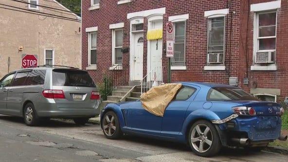 Police investigate car vandalism in Norristown