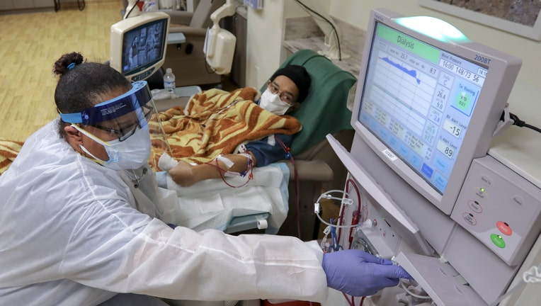 Coronavirus COVID-19 Patient Desert Cities Dialysis