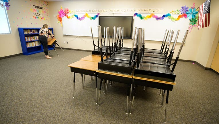 ccd87a2d-Provo, Utah School Prepares For School Year Amid CoVID-19 Pandemic
