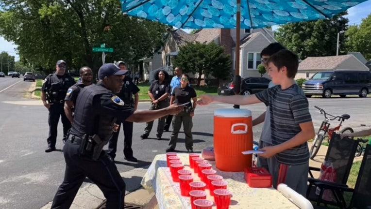 peoria police lemonade