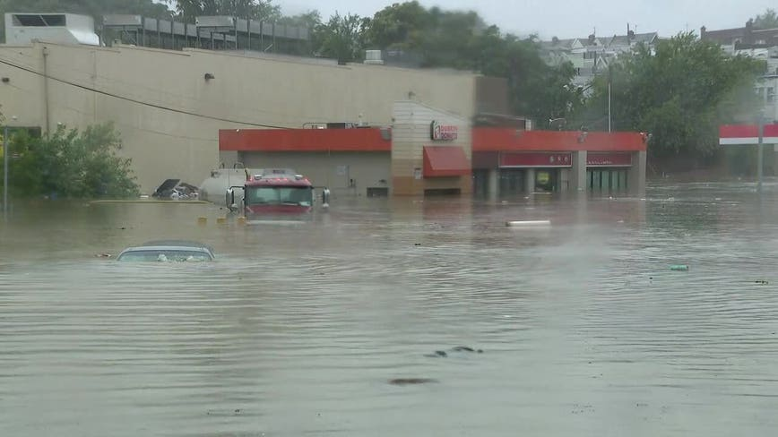 Flooding from Isaias impacts areas across the Delaware Valley