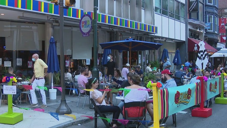 Midtown Village streets open to businesses for outdoor dining