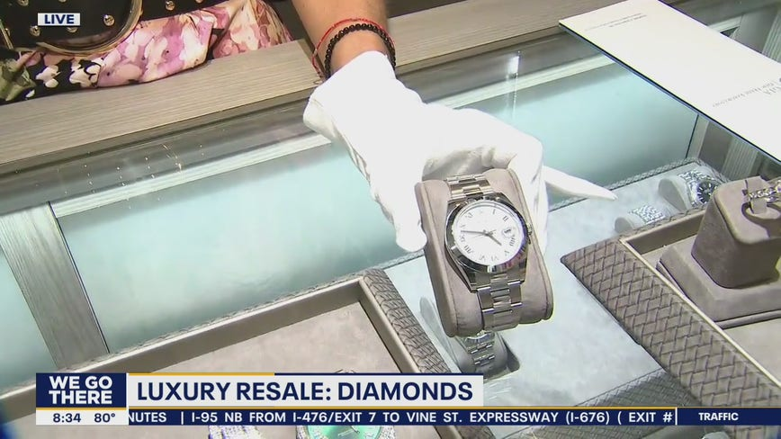 Luxury jewelry selling for less money