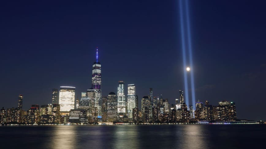 Charities, NYC first responders vow save annual 9/11 'Tribute in Light'
