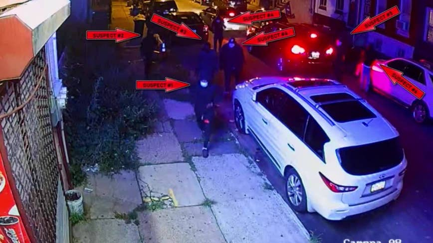 7 suspects sought in quadruple shooting that killed 32-year-old woman Friday