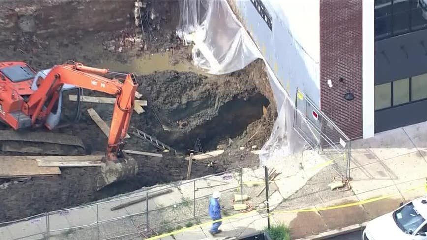 Construction worker injured during wall collapse in North Philadelphia