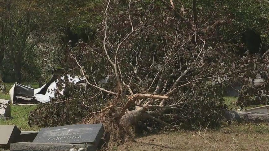 Cleanup continues in Cape May County after tornado touches down