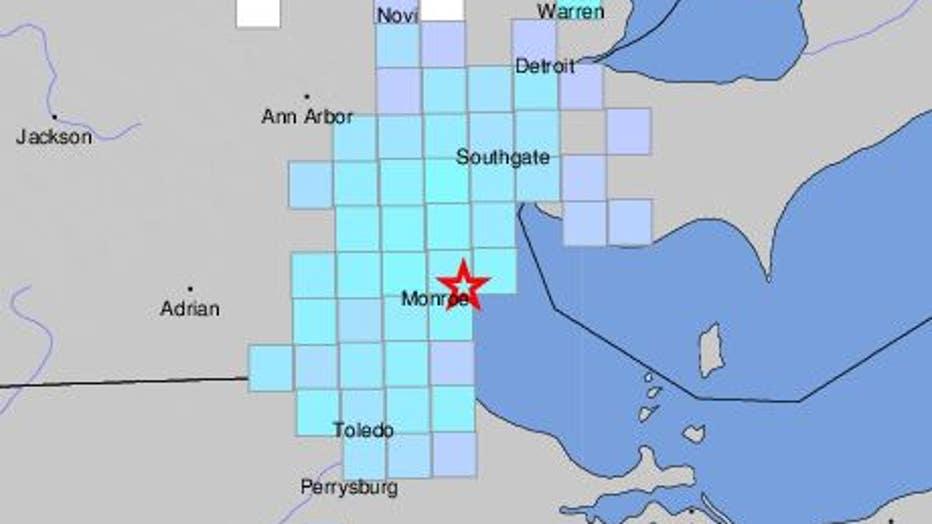 WJBK-USGS EARTHQUAKE-082120