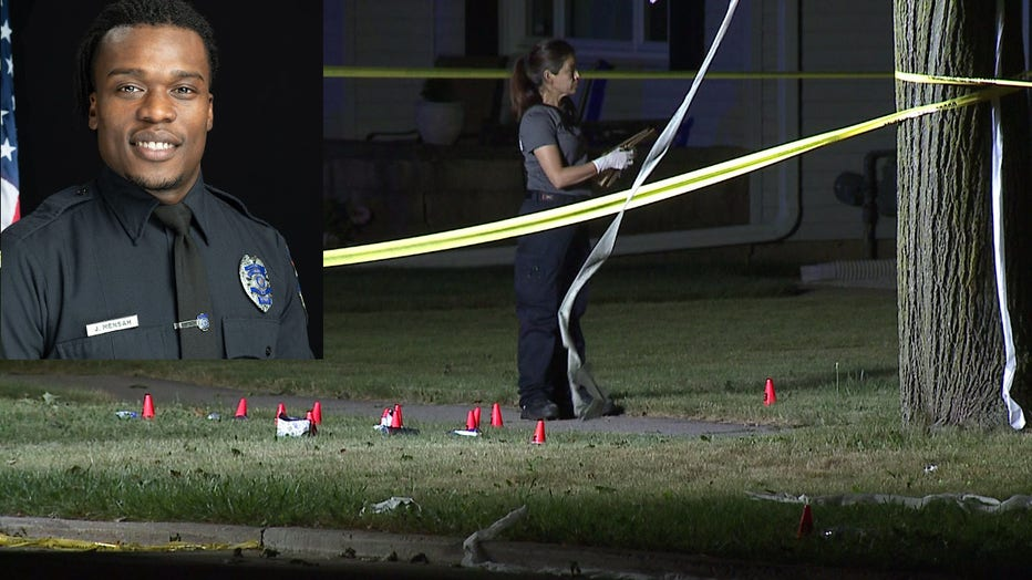 Incident at home of Wauwatosa Police Officer Joseph Mensah