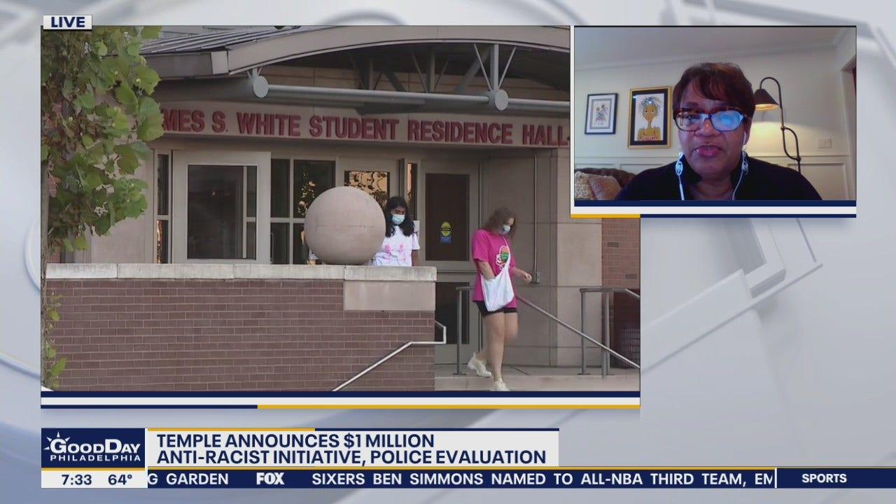 Temple announces 1 million anti-racist initiative and police evaluation
