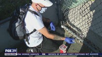North Philly man cleans city parks and playgrounds of drug needles to help keep kids safe