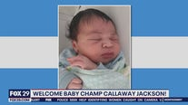 Welcome to the world Champ Callaway Jackson!