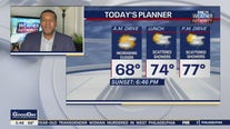 Weather Authority: Tuesday to bring mild temps, showers