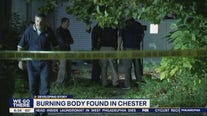 Authorities trying to identify woman found on fire in Chester
