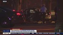 Police investigating fatal crash on Benjamin Franklin Parkway