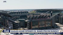 Eagles to host Rams for home opener without fans, tailgates
