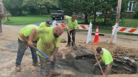 Ambler residents dealing with issues following series of water main breaks