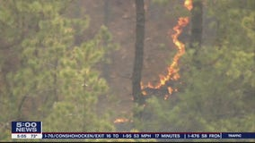 Experts say California wildfires can happen here