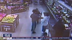 A man strikes a special needs teen across the face in Bucks County Walmart