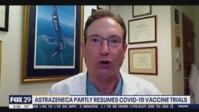 AstraZeneca partly resumes vaccine trial for coronavirus
