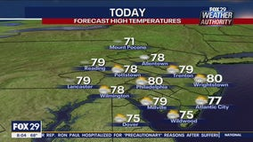 Weather Authority: Weekend ends with seasonable conditions