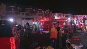 Firefighter injured while battling 2-alarm blaze in New Castle County