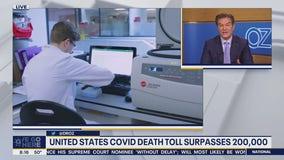 United States death toll passes 200,000