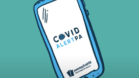 Pennsylvania expands virus app to school-age phone users