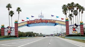 Disney World guest without mask is escorted from park while attempting to garner support, video shows